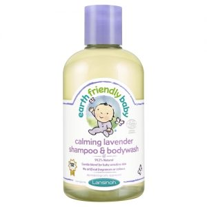 sampon si gel de dus bio earth friendly baby levantica
