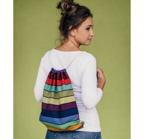 Saculet wrap tesut Lenny Lamb Carousel of Colors