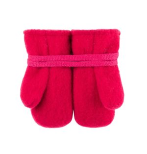 Manusi lana merinos fleece pure pure raspberry