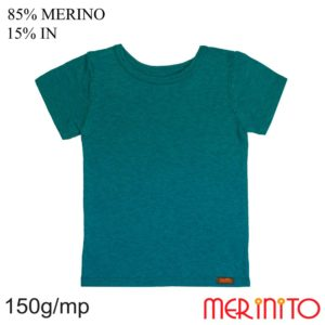 Tricou lana merinos in maneca scurta merinito Seaport
