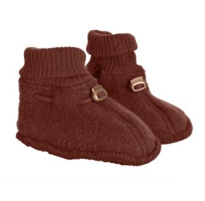 Botosei fleece lana merinos mikk-line madder brown